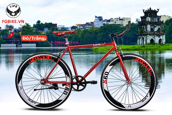 xe dap fixed gear life lf6-03