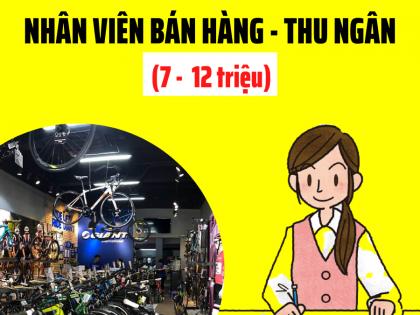 3 TUYEN DUNG NHAN VIEN BAN HANG THU NGAN XE DAP 88
