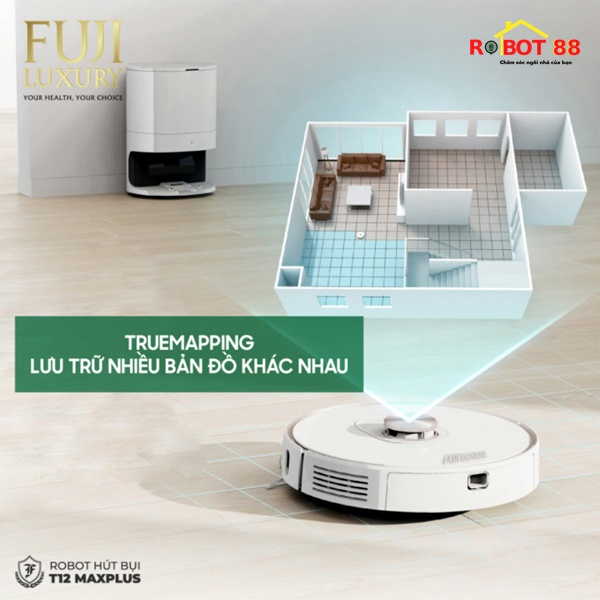 ROBOT HUT BUI FUJI LUXURY T12 MAX PLUS 3